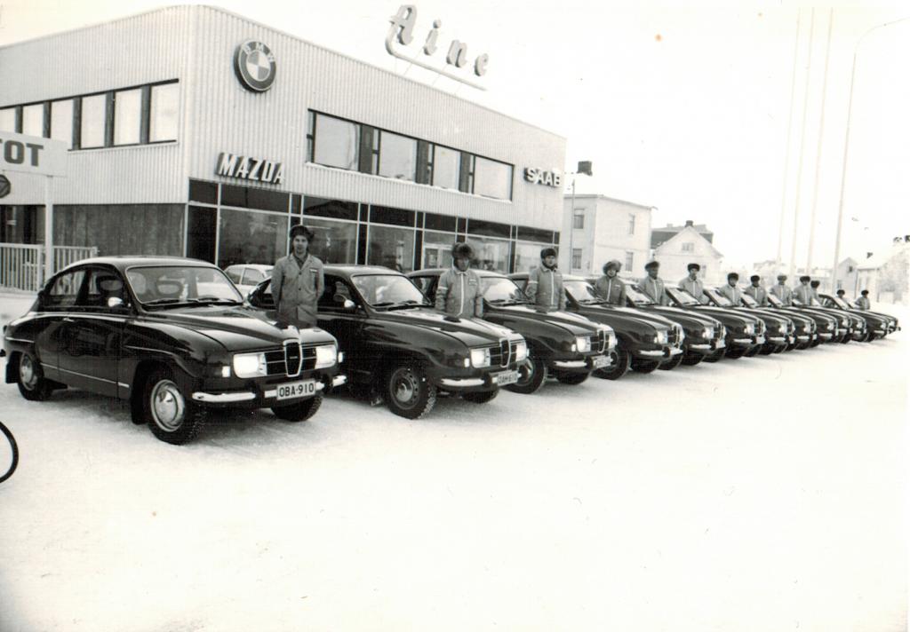 """Saab 96 oli aikansa hittituote, """"kuupat"""" rivissä Limingantullissa"""