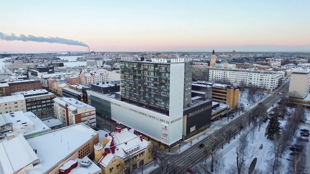 Uudiskohteet Oulu Oulun Uudiskohteet Kartalla